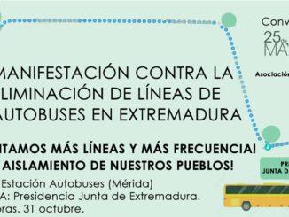 Los pensionistas defendemos el transporte público