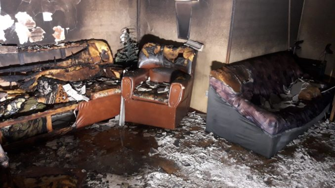 Una persona fallecida en el incendio que tuvo lugar anoche en la calle Berrocala de Cáceres